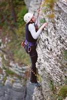 Активный отдых в Сочи - Скалолазание и скаловосхождения.