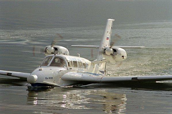 Транспорт Олимпиады 2014 - самолёт-амфибия