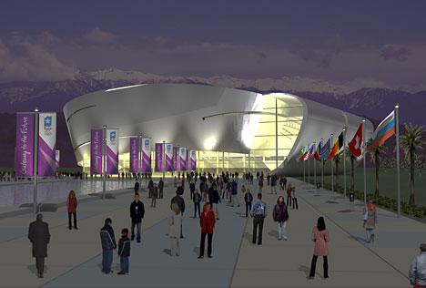 Спортивный комплекс для керлинга 2014
