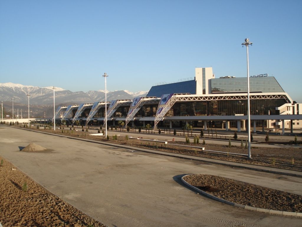 Новый аэровокзал к концу 2008г.