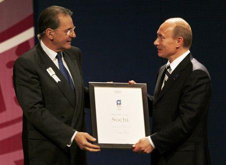 Рогге (Rogge) Жак. Бельгия, президент МОК.