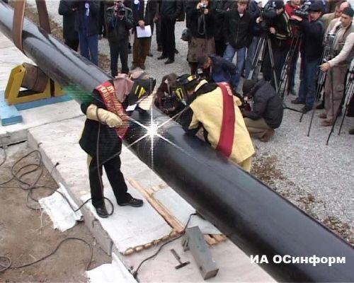 """Строительство газопровода """"Джубга-Сочи"""" начнется в 2008 году"""